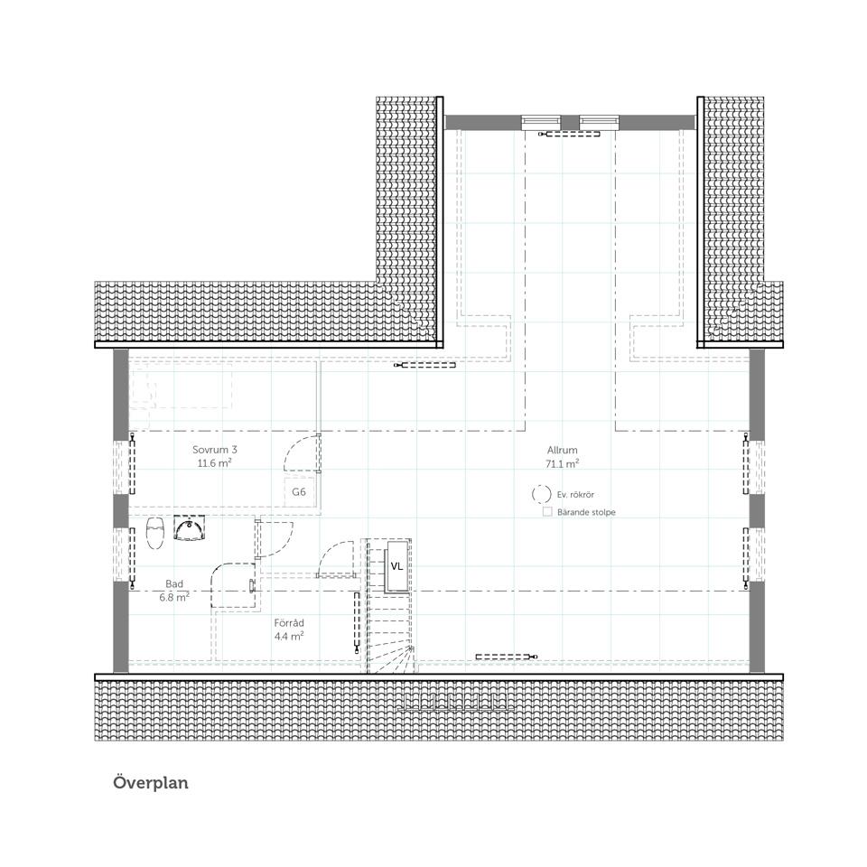 Övervåning Spira 211