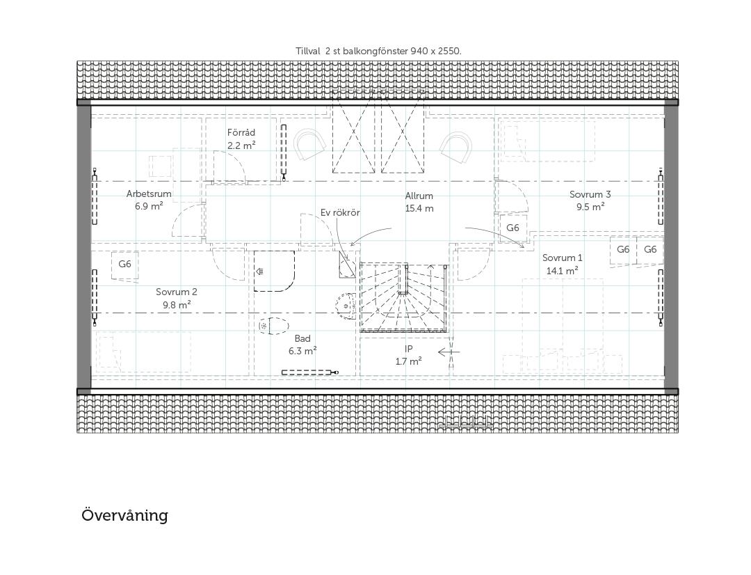 Övervåning Stil 163 – Landskap