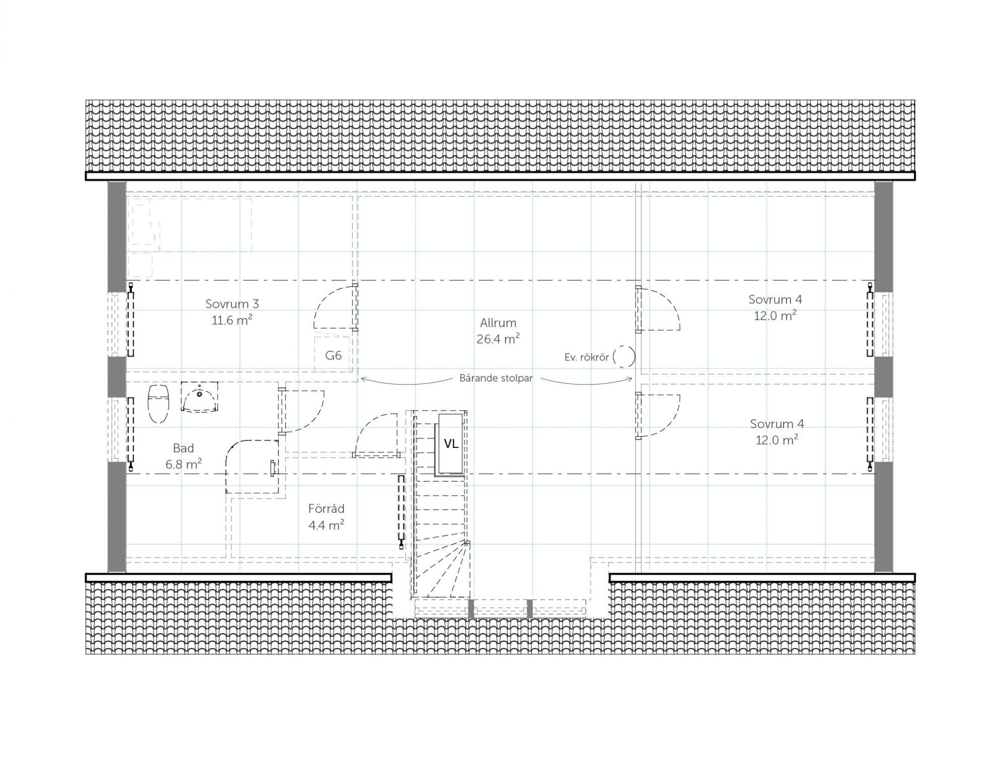 Övervåning Spira 168